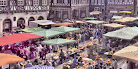 Simkea-Ortschaft:Marktplatz
