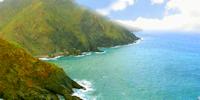 Simkea-Ortschaft:Meeresklippe