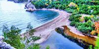Simkea-Ortschaft:Meeresstrand