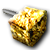 Goldener Pflasterstein